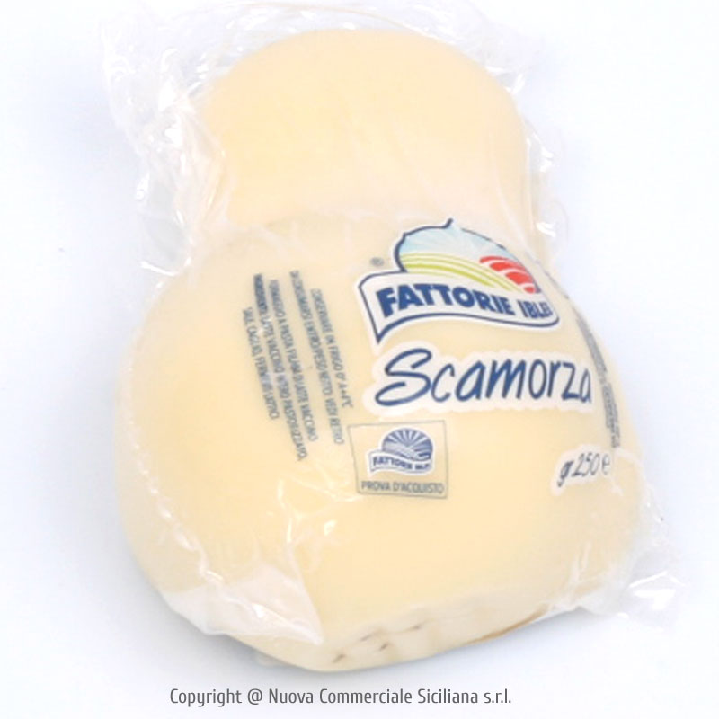 WHITE SCAMORZA CHEESE GR 250*