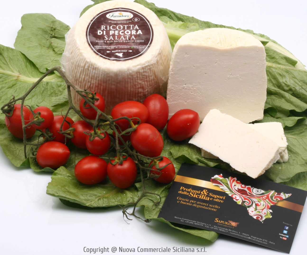 RICOTTA CHEESE (SALTED, FROM SHEEP'S MILK) KG 1*