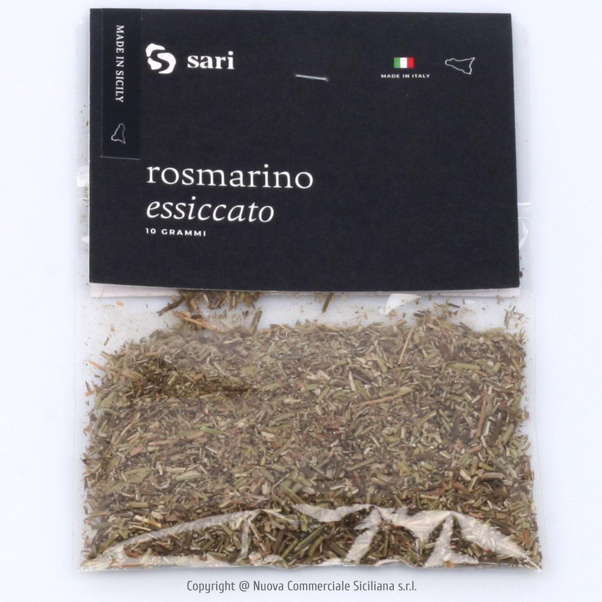 ROSMARINO ESSICCATO SICILIANO GR 10