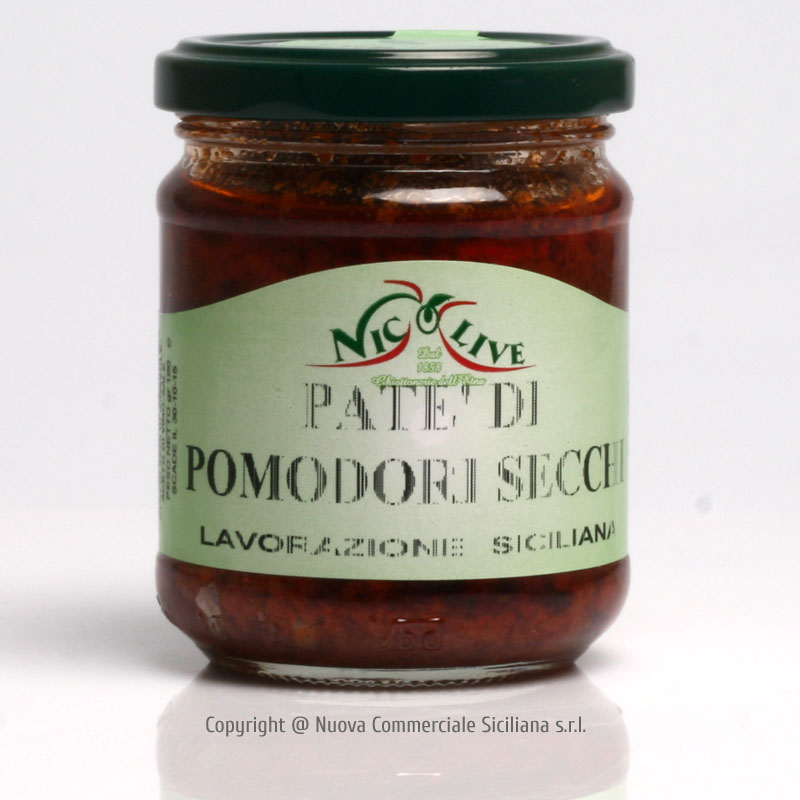DRIED TOMATOES PATE' GR 180