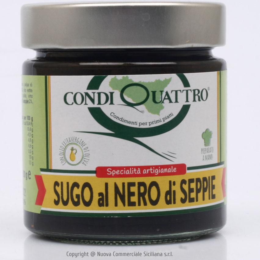 SUGO AL NERO DI SEPPIE GR 200
