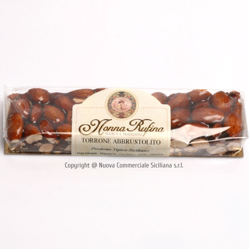 TOASTED ALMONFS NOUGAT (TORRONE) GR 100