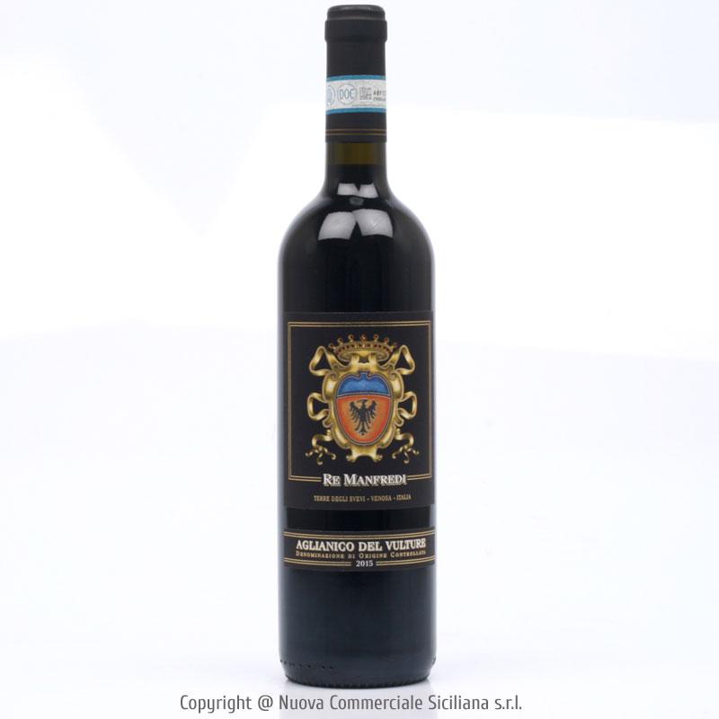 RE MANFREDI AGLIANICO DEL VULTURE DOC 2015 -BASILICATA/ROSSO CL 75