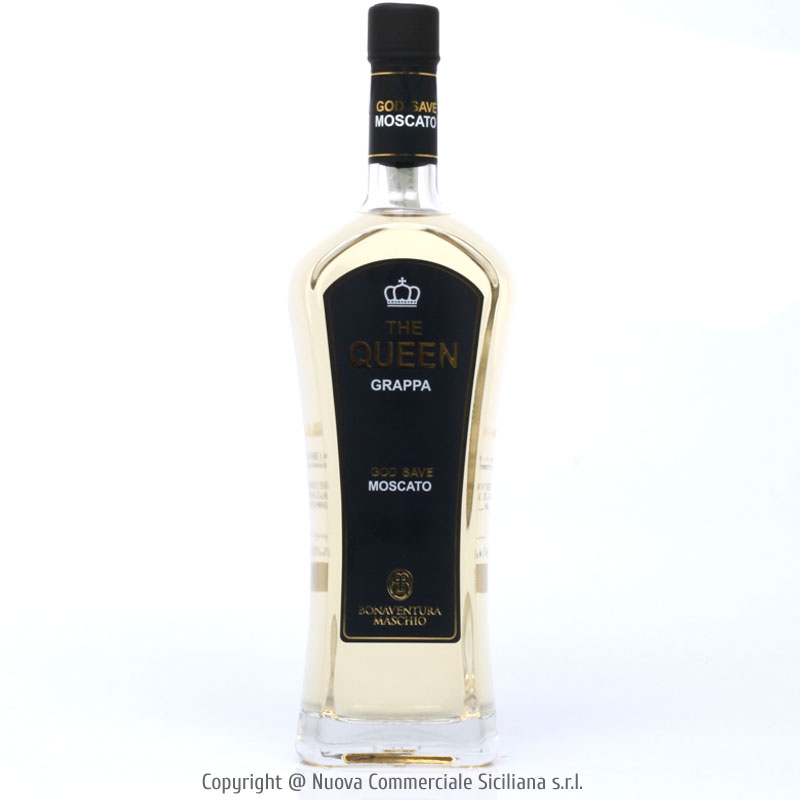 GRAPPA THE QUEEN GOD SAVE MOSCATO - VENETO/GRAPPA CL 70