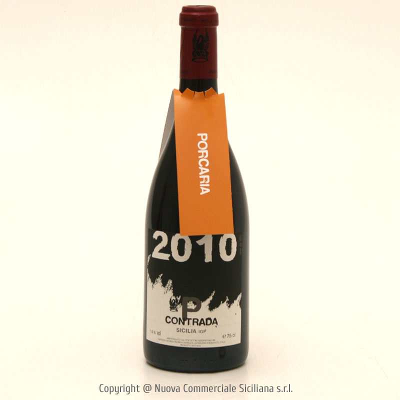 PORCARIA IGT 2010 CL 75 - SICILY/RED