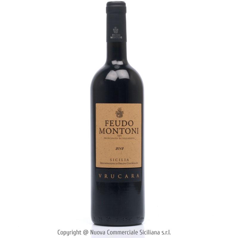 FEUDO MONTONI VRUCARA SICILIA DOC 2012 - SICILY/RED CL 75