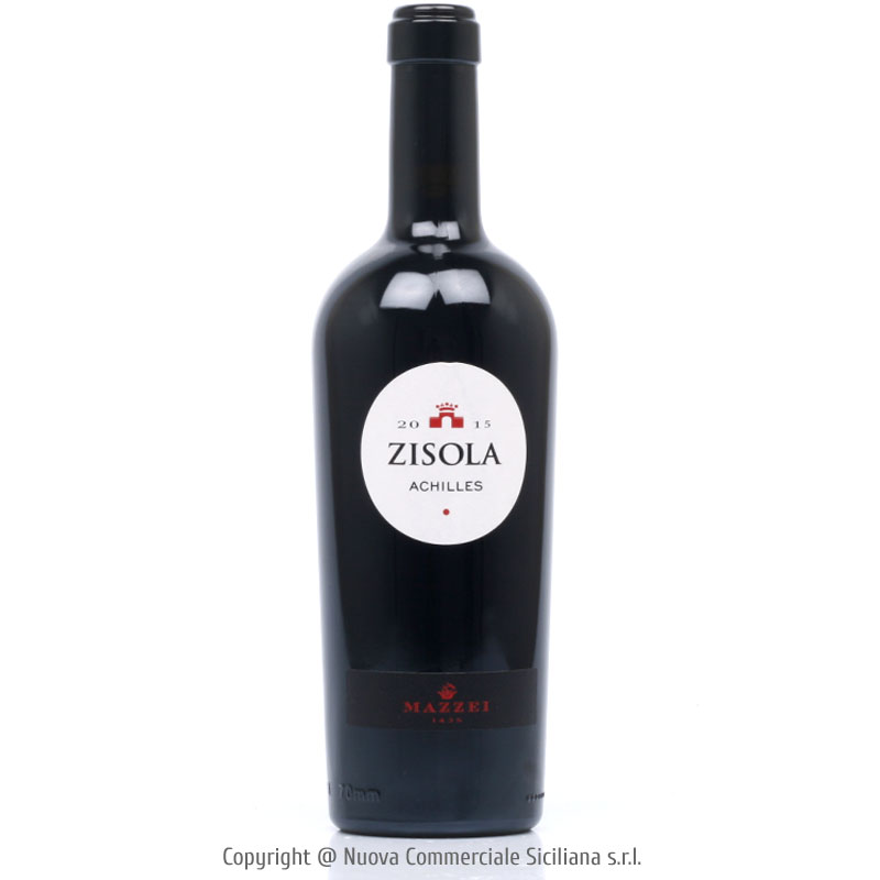 ZISOLA ACHILLES TERRE SICILIANE IGT 2015 - SICILY/RED CL 75