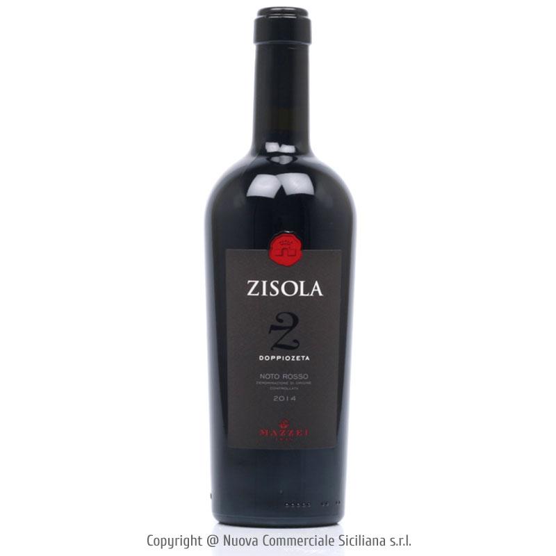 ZISOLA DOPPIOZETA NOTO ROSSO DOC 2014 - SICILIA/ROSSO CL 75