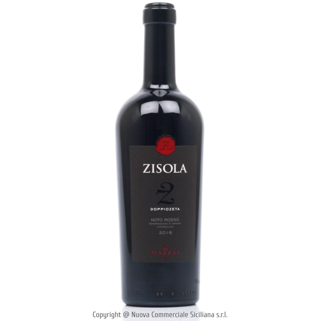 ZISOLA DOPPIOZETA NOTO ROSSO DOC 2016 - SICILY/RED CL 75