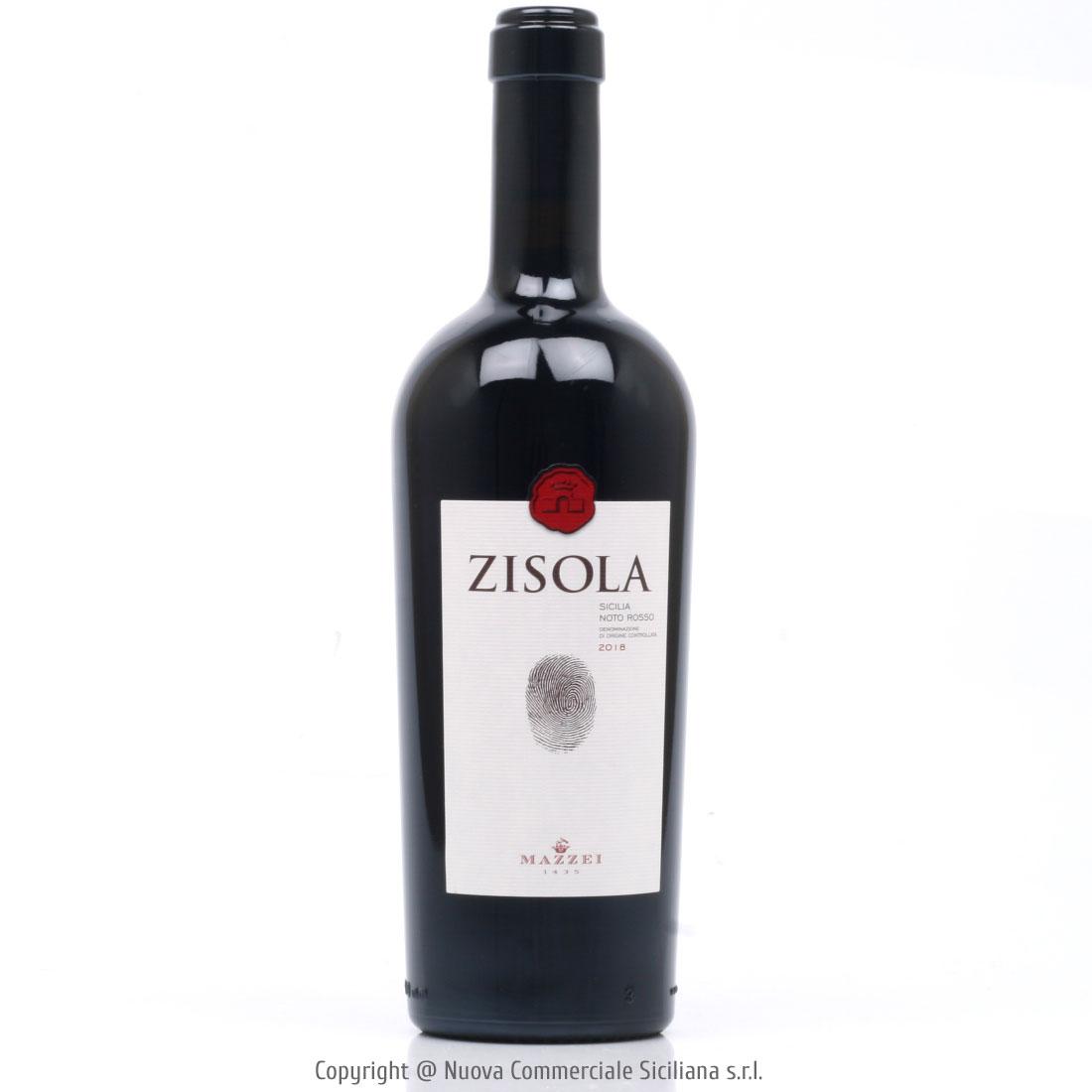 ZISOLA NOTO ROSSO DOC 2018 - SICILY/RED CL 75