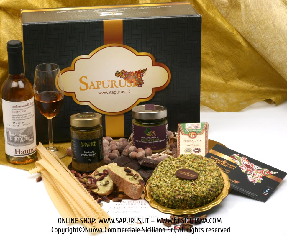 THE EXCEPTIONAL SICILIAN - TYPICAL PRODUCTS GIFT BOX