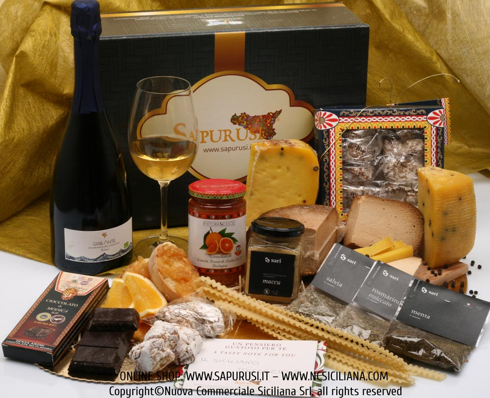 THE GREEDY SICILIAN - TYPICAL PRODUCTS GIFT BOX