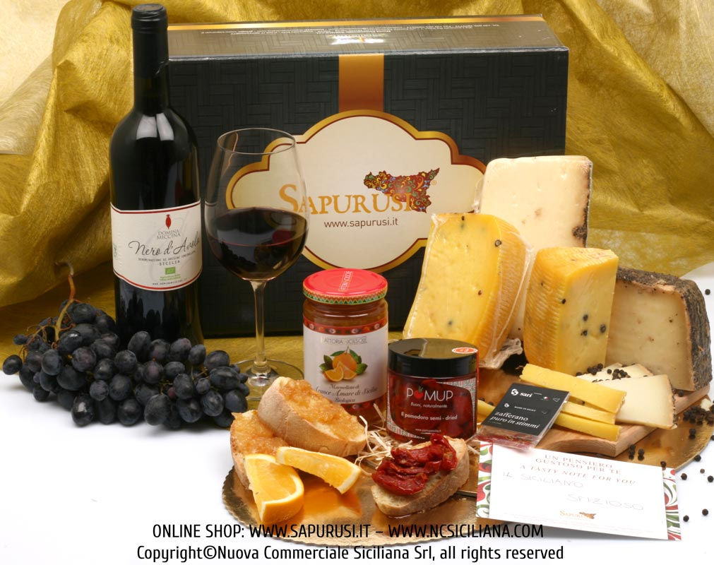 THE SPICY SICILIAN - TYPICAL PRODUCTS GIFT BOX
